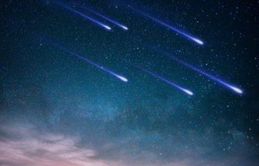2021年の流星群が出現する時期・時間・極大日は?カレンダー一覧