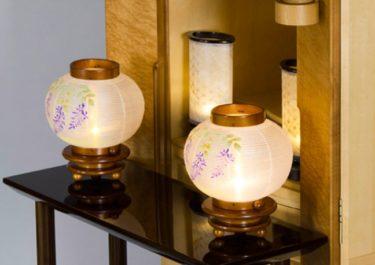 お盆提灯や仏壇のろうそくの火を消すタイミングは?火の消し方も説明