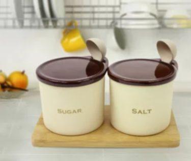 ダイエット中の塩分と糖分は1日何gが最適?摂取量目安は?