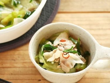 人気のキャベツダイエットレシピ!キャベツと豚肉の低カロリーレシピ